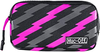 Muc-Off Essentials Case, Bolt - Tough 900D Polyester Fabric Storage Pouch with Zip - Ideal for Storing Spare Inner Tubes, ...