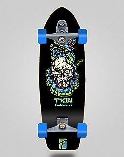 TXIN - Surfskate with T12 Trucks Surf Skate - Blue Snake ...
