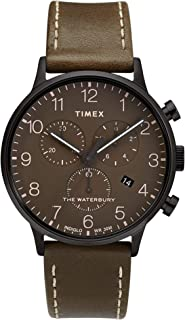 Men's Waterbury Classic Chronograph 40mm Leather Strap Watch