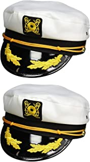 Adult Yacht Cap, White, One Size
