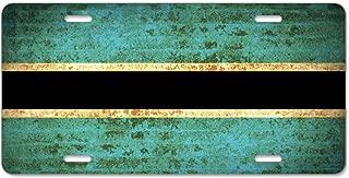 Kefanlk Retro Flags Botswana License Plate Frame Theft-proof Frames Aluminum Board Frames For Men Women
