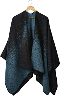 Tickled Pink Classic Open Front Poncho or Shawl Wrap - One Size Fits Most