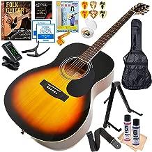 アコースティックギター 初心者セット セピアクルー FG10 VS ビンテージサンバースト (ギター 初心者 入門 16点 セット)