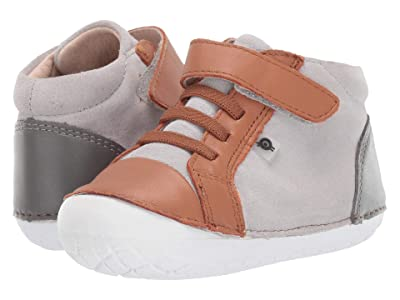 Old Soles High Pave (Infant/Toddler) (Grey Suede/Tan/Grey) Boy