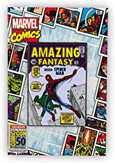 Marvel Comics Spider-Man Comic Pin   Original Amazing Fantasy Spider-Man Appearance   Exclusive Oversize Enamel Spider-Man Pin