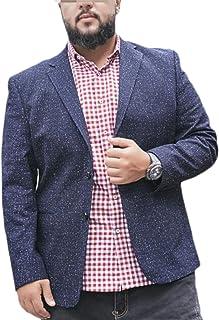 TSTZJ Mens Plus Size Blazer Smart Casual Regular Fit Business Suit Single Breasted Coats, Dinner Chic Jackets