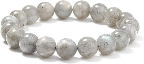 J.Fée Bracelet de Perles Bracelet Naturel Bracelet Bracelet élastique Bracelet 10mm Semi Précieux Bracelet de Guérison Bracelet Femme Cadeau d'anniversaire