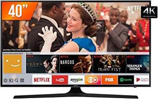 Smart TV LED UHD 4K 40'', Samsung, UN40MU6100GXZD, Preto