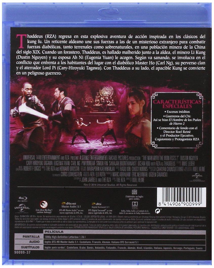 El Hombre De Los Puños De Hierro 2 [Blu-ray]