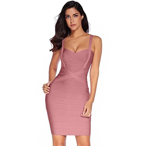 Meilun Women s Celebrity Bandage Bodycon Dress Strap Party Pencil Dress 0eb54c894
