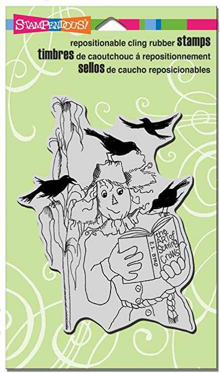 Stampendous Cling Rubber Stamp-Sandcastle