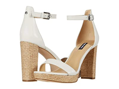 Nine West Dempsey Heeled Sandal (Bone) Women