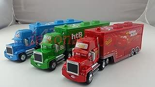 ้็็Hand Mate Car Toys Pixar 1:55 Scale Diecast Mack Lightning McQueen & Chick Hicks & King Truck Toy and Car Collectors