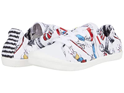 BOBS from SKECHERS Beach Bingo (White Multi) Women