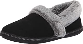 Women's Cozy Campfire-Team Toasty-Microfiber Slipper with Faux Fur Lining