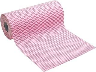 ストリックスデザイン カウンタークロス ロールタイプ 厚手 40カット ピンク 約23×35cm 使い捨て 不織布 ふきん テーブルダスター J-101