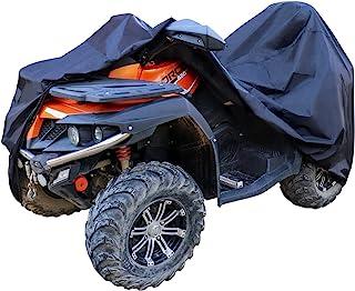 "AmazonBasics Weatherproof Standard ATV Cover - 150D Oxford, ATVs up to 102"""