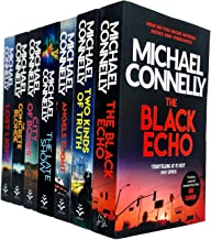 Michael Connelly Collection 7 Books Set (City Of Bones, The Concrete Blonde, Lost Light, The Black Echo, Two Kinds of Trut...