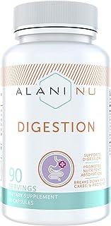 Alani Nu Digestion, Digestive Enzymes, Anti Bloating, 90 Capsules, 90 Servings