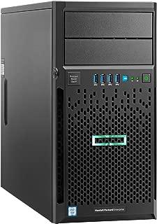 HPE 831065-S01 ProLiant ML30 Gen9 Server, 4 GB RAM, No HDD, Matrox G200, Black