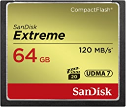 SanDisk Extreme 64GB CompactFlash Memory Card...