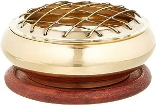Accessories - Brass Burners Screen Charcoal Incense Burner 3