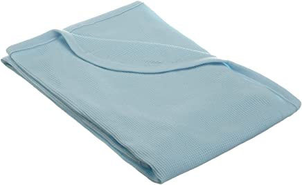 featured product TL Care 100% Natural Cotton Swaddle/Thermal Blanket,  Blue,  Soft Breathable,  for Boys and Girls