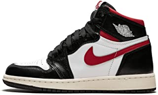 Jordan Air 1 Retro High Og Gs (Black/Gym Red-White Sail 6.5Y)