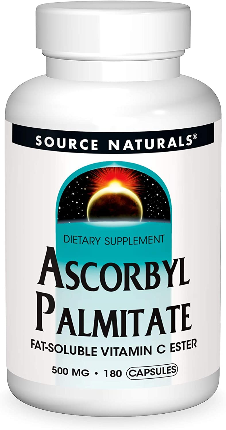 Source Naturals Elegant Ascorbyl Gifts Palmitate 500mg Fat-Soluble E C Vitamin