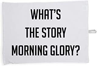 Hippowarehouse What's the story morning glory? Printed Tea Towel Dish Cloth Kitchen accessory 50cmx70cm 100% Cotton