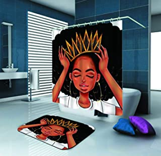 Best black girl magic bathroom set Reviews