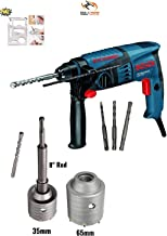 Bosch GBH 200 Professional Rotary Hammer With Concrete Holesaw for Drilling on Wall,Concrete,Brick By Tools Centre