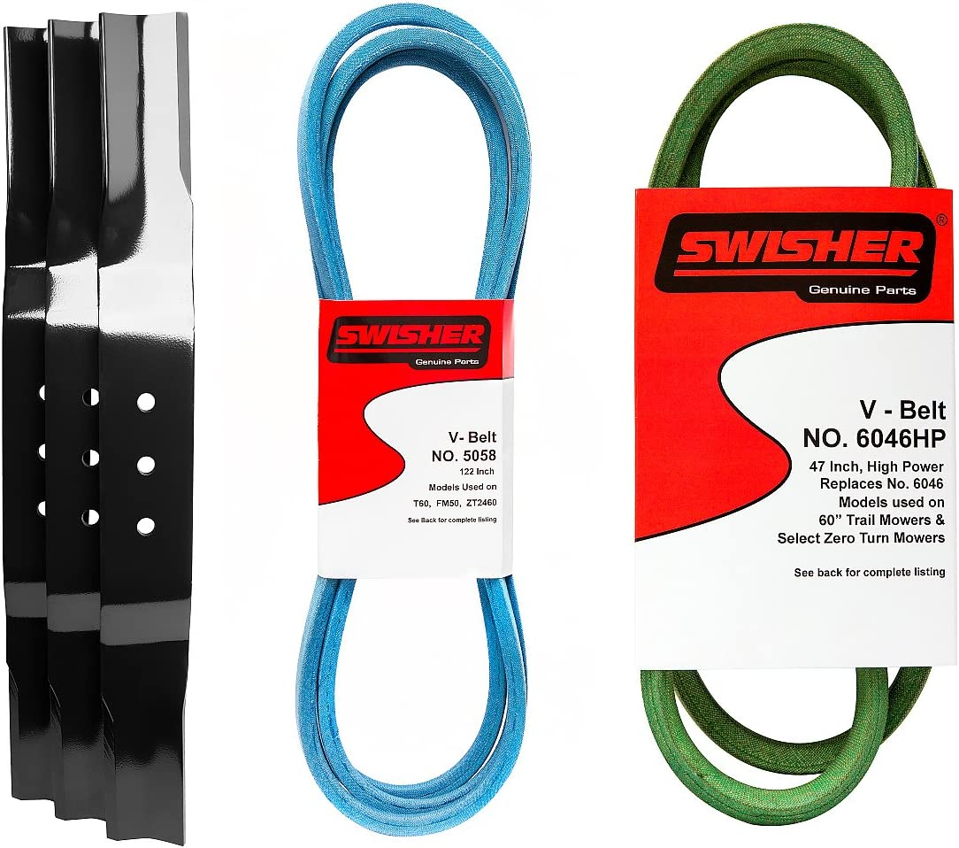Swisher 21054 Save money 60 in. Finish Cut Service Don't miss the campaign Kit
