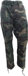 Regal Wear Mens Legendary Army Cargo Pants with Belt