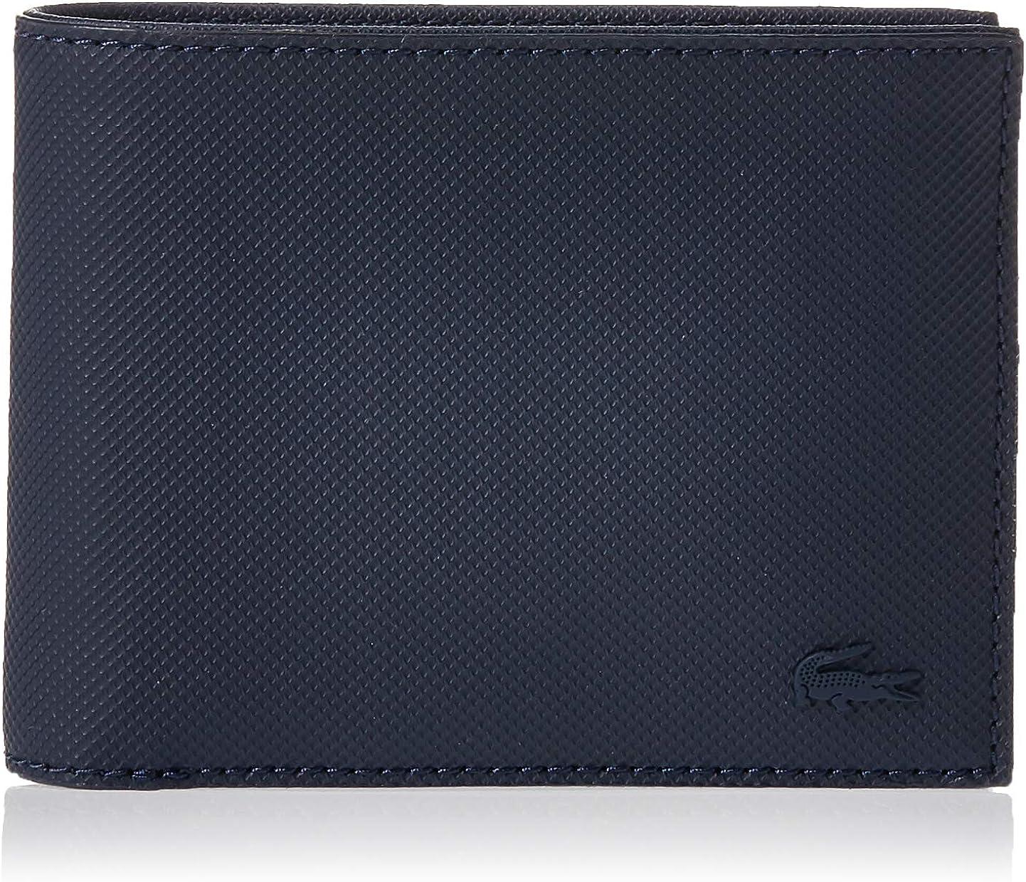 Lacoste Men's Billfold Wallet, Blue