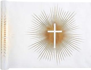 Générique Chemin DE Table CÉRÉMONIE Religieuse 30CMX5M Blanc