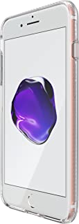 tech21 - Phone Case Compatible with Apple iPhone 8 Plus/iPhone 7 Plus - Impact Clear - Clear/Matte