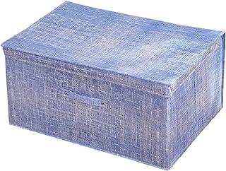 Aitaolian HOMEsn Tissu De Draps De Bac De Rangement Pliable, Panier De Stockage avec Poignées pour Bureau À Domicile Organ...