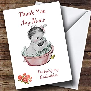 thank you for being my godmother card