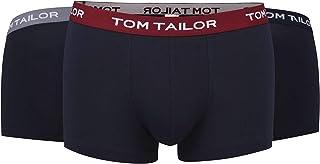 TOM TAILOR Men's Trousers Blue Melange Pack of 3