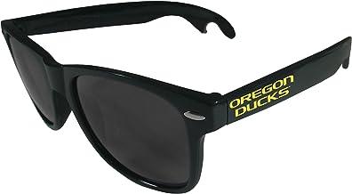 Siskiyou NCAA Unisex Beachfarer Bottle Opener Sunglasses, White
