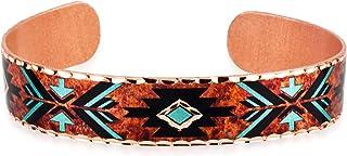 Arrowhead Bracelets Copper Cuff Adjustable/Arrows & Bows Bracelets/Friendship Arrows/Zuni Bear/Colorful Arrows, Native Arr...