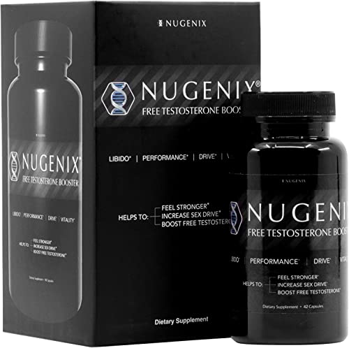 new arrival Nugenix Free Testosterone new arrival Booster lowest for Men, 42 Count outlet online sale