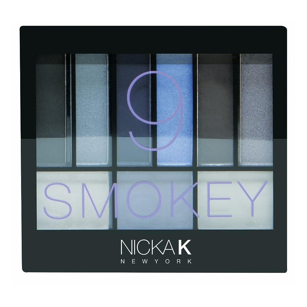 複合深い記念碑(6 Pack) NICKA K Perfect 9 Smokey Eyeshadow Palette Set (並行輸入品)