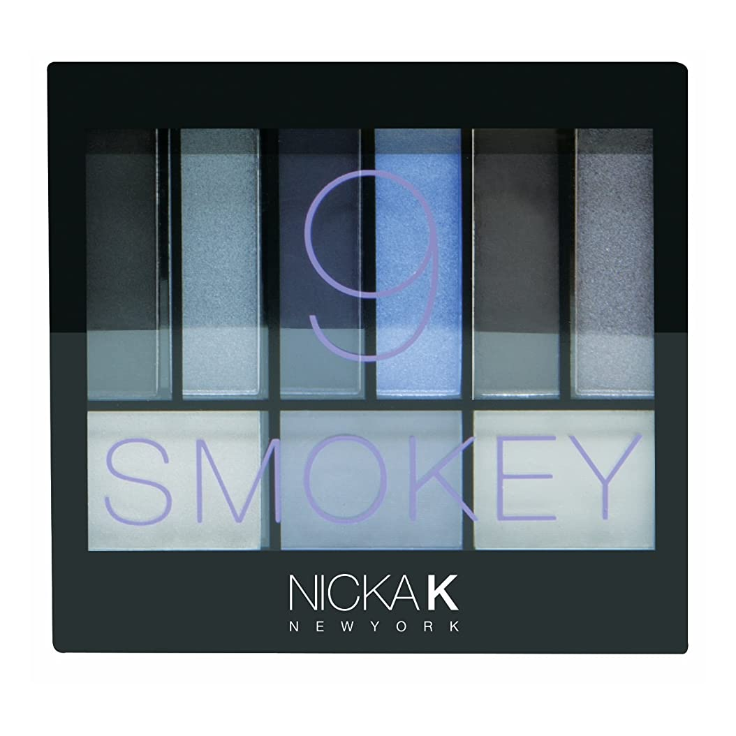 ハンサム九時四十五分(3 Pack) NICKA K Perfect 9 Smokey Eyeshadow Palette Set (並行輸入品)