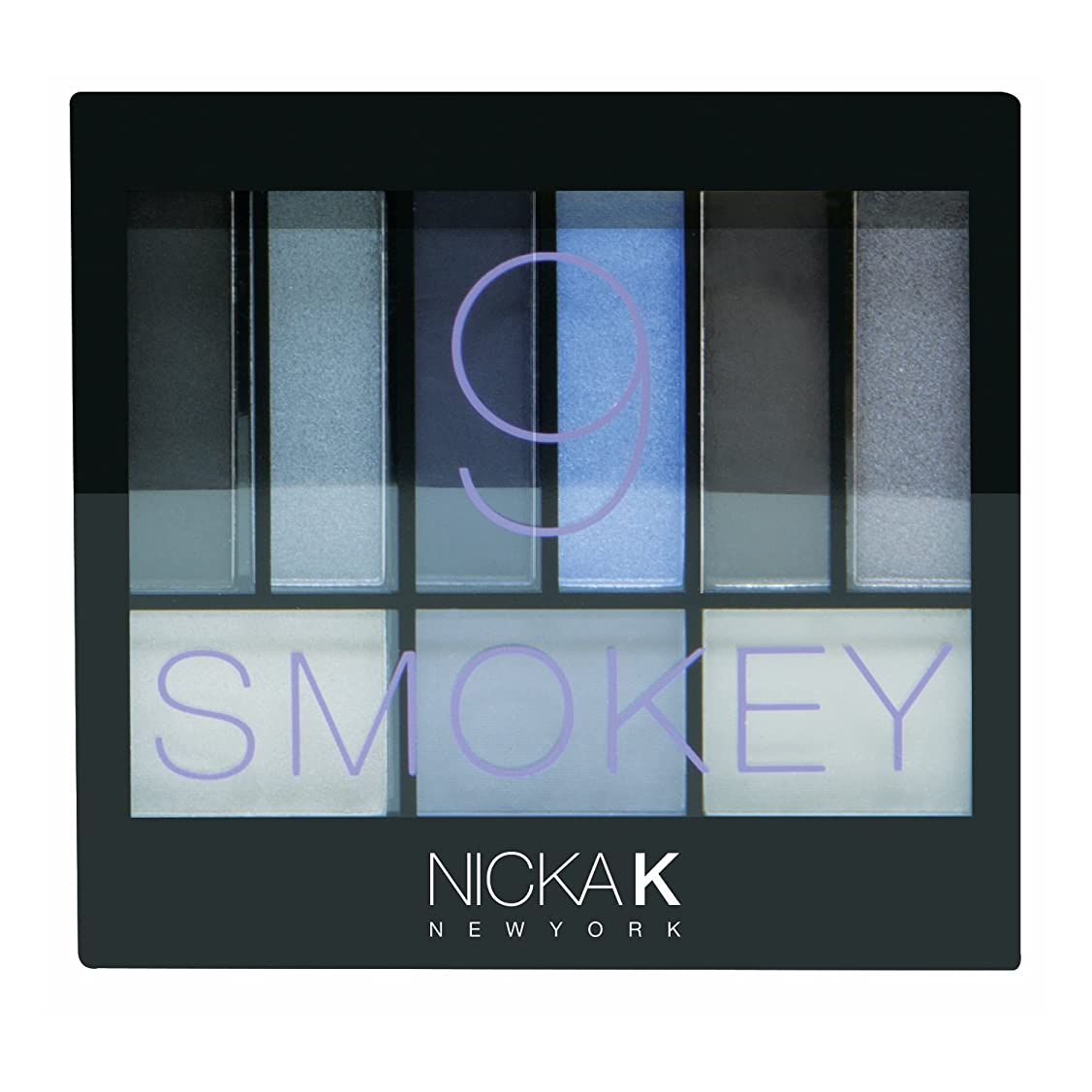アトミック病院テーマ(6 Pack) NICKA K Perfect 9 Smokey Eyeshadow Palette Set (並行輸入品)