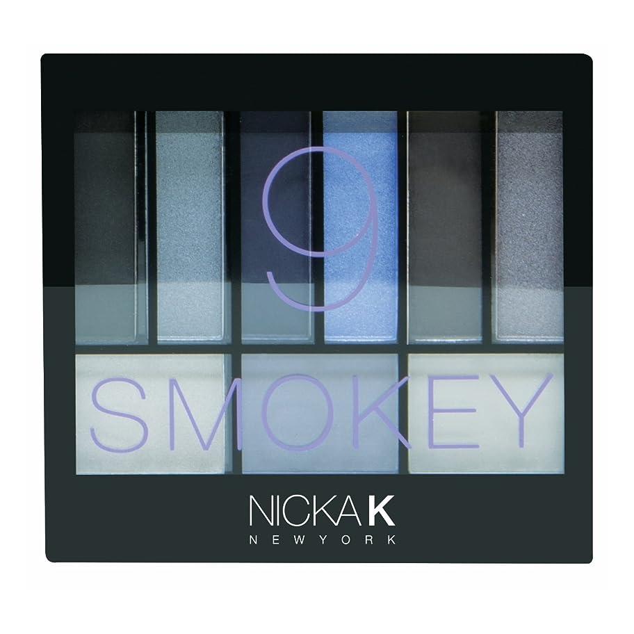 上向き動機レジデンスNICKA K Perfect 9 Smokey Eyeshadow Palette Set (並行輸入品)