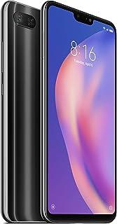 جوال شاومي مي 8 لايت ثنائي الشريحة - ذاكرة تخزين داخلية 128GB وذاكرة RAM سعة 6GB و4G LTE بلون اسود ميد نايت - اصدار عالمي