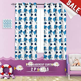Big datastore home Kids Curtain, Assistant Business Businesswoman Call Center Communication Consultant Contact Customer Female Girl 108 x 72 inch Grommet Room Darkening Blackout Drapes