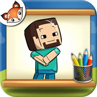 How to Draw Minecraft step by step Drawing App